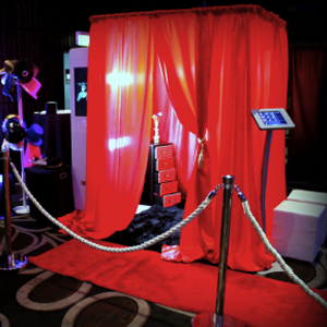 Curtain Booth