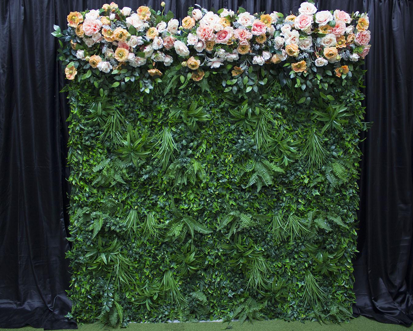 Sherbert Greenery Wall