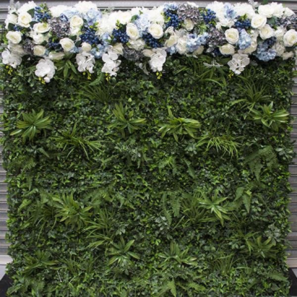 Blueberry Hill Greenery Wall